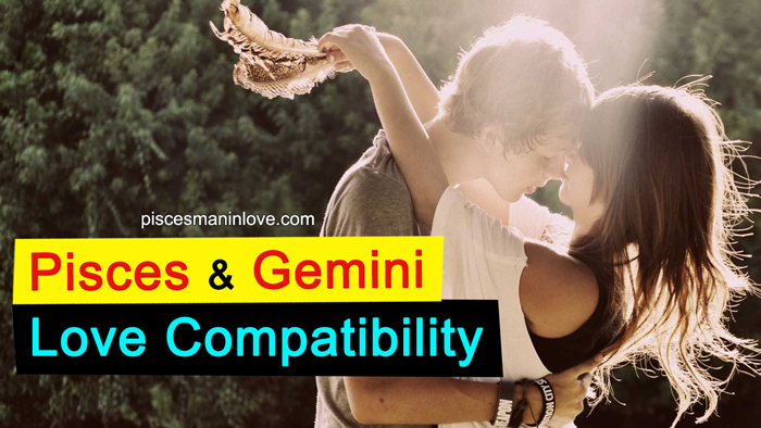 Pisces and Gemini Love Compatibility
